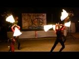 Фаер шоу от циркового коллектива