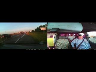 Авария на трассе Омск-Тюмень 25.08.2013